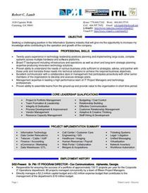 Robert lamb   resume cv