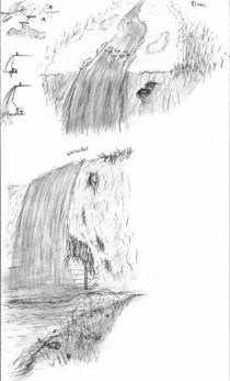 Drawn   waterfall cv