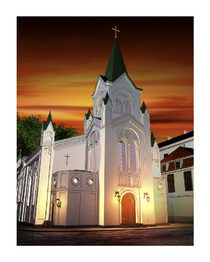 Church in riga latvia cv