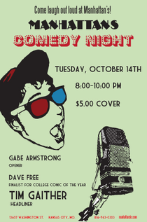 Comedy night cv