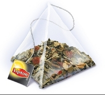 Liptin pyramid tea bag cv