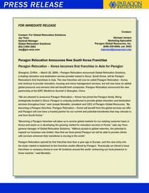 Southkorea pressrelease page 1 cv