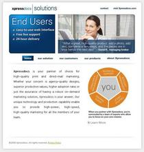 Xpressdocs corp solutions website screenshot cv
