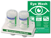 Eye wash station cv