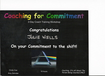Coaching for commitment cert cv