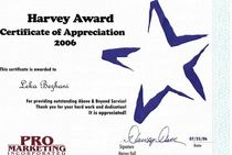 Harvey award 1 small cv
