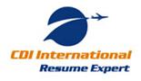 Cdi resume expert cv