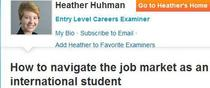 Examiner interview cv