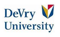 Devry university cv
