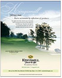 Kingsmill golf cv