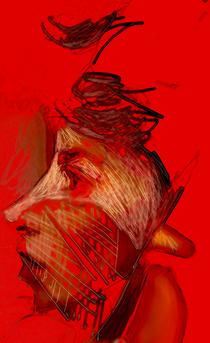 Redcolored pencil cv
