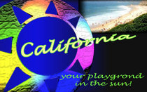 California postcard ad cv