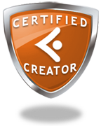 Certified vcv creator badge orange 100708 cv