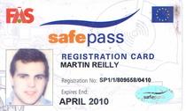 Safe pass cv