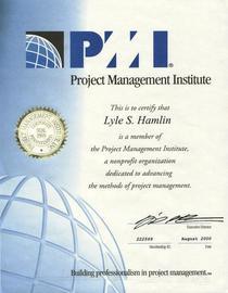 Hamlin   pmi membership cv