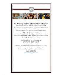 29 spa wellness membership reception cv