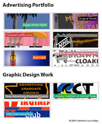 Advertising graphic design portfolio cv