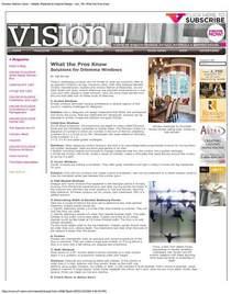 91db vision article jan 09 1 cv