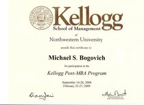 Kellogg post mba cv