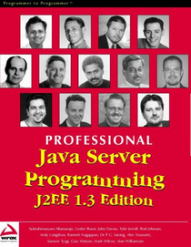 Professional java server programming cover cv