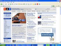 Npr.org home page cv