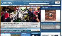 Discovery home page cv