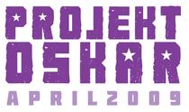 Projekt oskar logo with date cv
