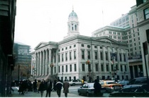 Brooklyn borough hall from remsen street circa 2000  cv