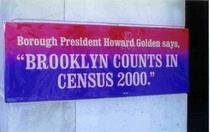 Brooklyn counts in census 2000 banner brooklyn borough president s office cv