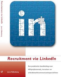 Recruitment via linkedin omslag cv