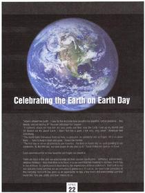 Earth day article cv