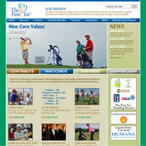 The first tee web site cv