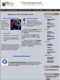 Homepage cv