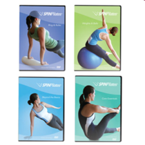 Spin pilates dvd package cv