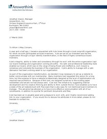 Letter of recommendation   wason jonathan cv