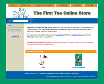 The first tee yahoo store front cv