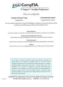 Comptia cv