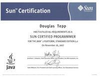 Sun certification cv