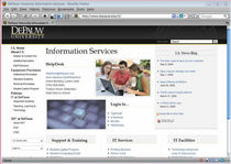 Depauw university information services webshot original cv