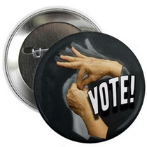 Vote betty s hand button cv