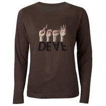 Deaf shadowed tshirt cv