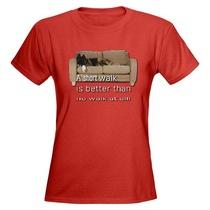 Short walk tshirt cv