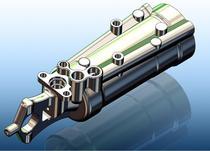 Aileron cylinder cv