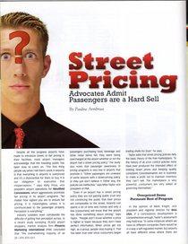 Street pricing 1 cv