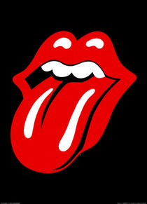 Mr638 rolling stones langue affiches cv