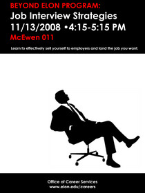 Job interview strategies workshop cv