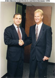 Steve and fbi director louie freeh cv