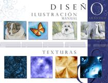 Portfolio ilustration manual texturas cv