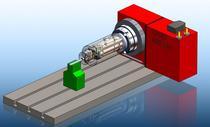Aileron cylinder 4 axis cv