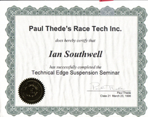 Tech edge suspension cv